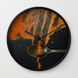 Spoonful of spice Wall Clock