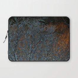 Winter Sunset Photography Print Laptop Sleeve