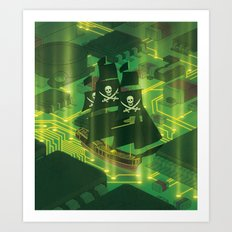 Search and Destroy Art Print