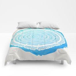 Douglas Fir – Blue Ombré Comforters
