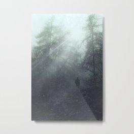 enter the wilderness Metal Print