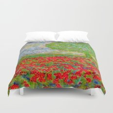 I blossomed... just because I can Duvet Cover
