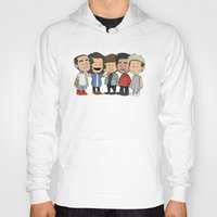 1d Hoodies featuring Schulz 1D by Ashley R. Guillory