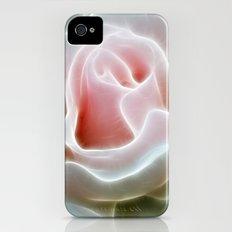 Pink Rose Slim Case iPhone (4, 4s)