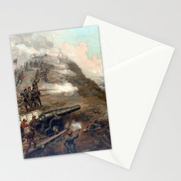The Capture Of Fort Fisher Stationery Cards