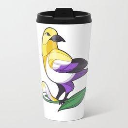 Pride Birds - Non-Binary Travel Mug