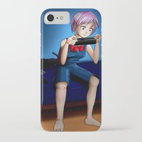 gaming iPhone & iPod Cases featuring Gaming Time by Rensou