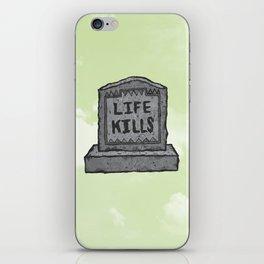KILLER LIFE iPhone Skin
