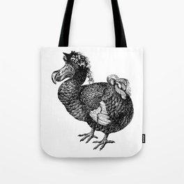Mrs Dodo | Black and White Tote Bag
