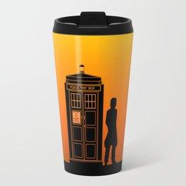 Tardis With The Eighth Doctor Travel Mug