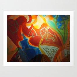 Change and Balance Art Print