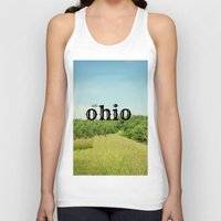 ohio state Tank Tops featuring Hello Ohio by KimberosePhotography