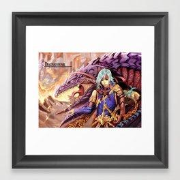 Dragon Summoner Framed Art Print