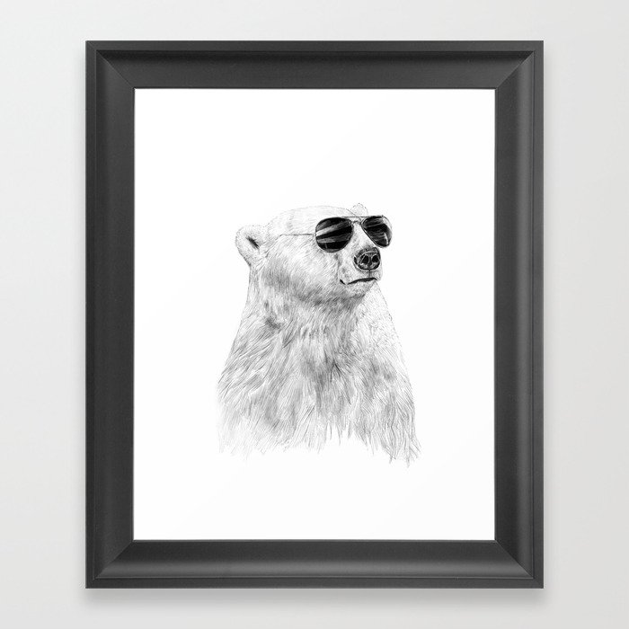 Don't let the sun go down Framed Art Print