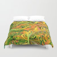 pineapple Duvet Covers featuring Pineapple by Danny Ivan