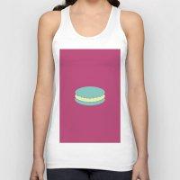 macaron Tank Tops featuring Macaron by Diapeirein