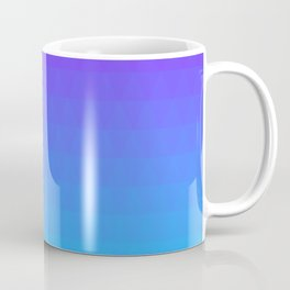 Blue and Purple Ombre - Flipped Coffee Mug