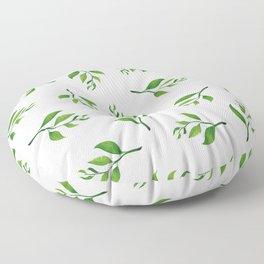 Tea Leaves Floor Pillow