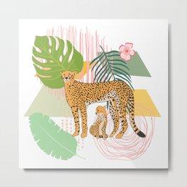 Cheetah #1 Metal Print