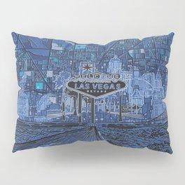las vegas Pillow Sham