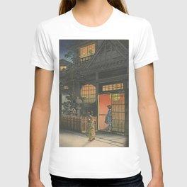 Night at Japan, Ukiyo-e T-shirt