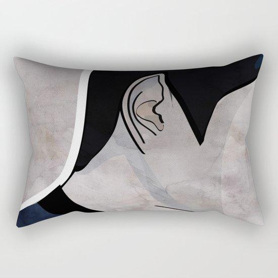Humans make illogical decisions Rectangular Pillow
