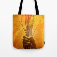 prometheus Tote Bags featuring Prometheus by nosnop