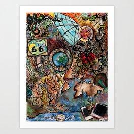 Follow Your Journey Art Print