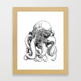 Octopus VI Framed Art Print