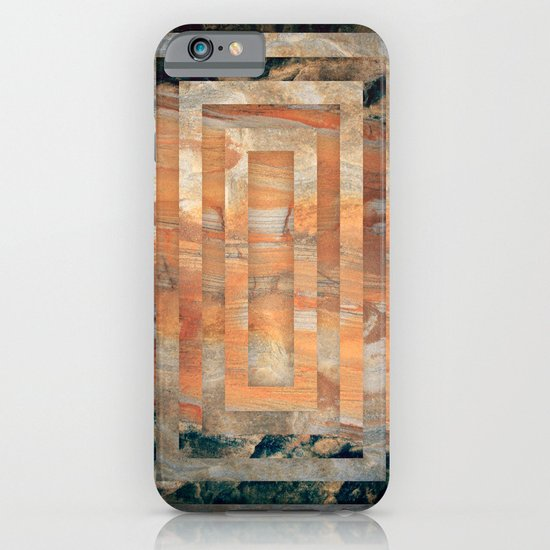 Cave abstraction iPhone & iPod Case