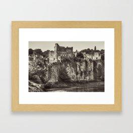 Castle on the Cliff Framed Art Print