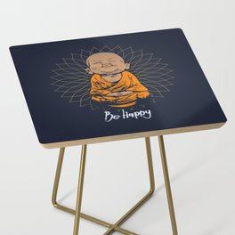 Be Happy Little Buddha Side Table