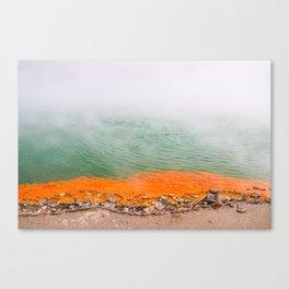 Orange Edged Canvas Print