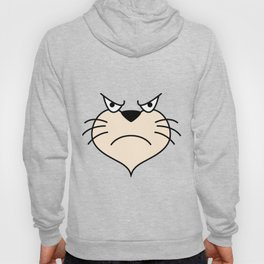 Cat Face - Angry Hoody