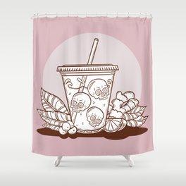 Purple Drank - Chocolate & Strawberry Shower Curtain