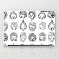 girls iPad Cases featuring Girls by Young Ju