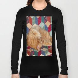 Cat Napping Long Sleeve T-shirt