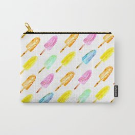 Watercolor popsicles Carry-All Pouch