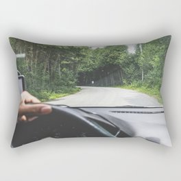 Between the Pines Rectangular Pillow