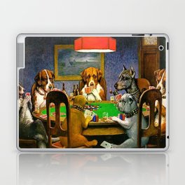 A FRIEND IN NEED - C.M. COOLIDGE Laptop & iPad Skin
