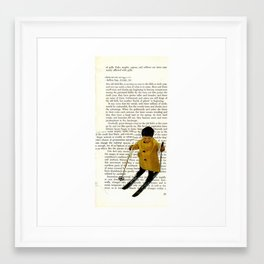 words Framed Art Print