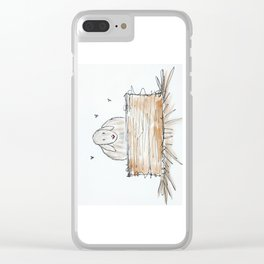 Lamby Clear iPhone Case