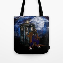 Werewolf 10th Doctor who Tote Bag