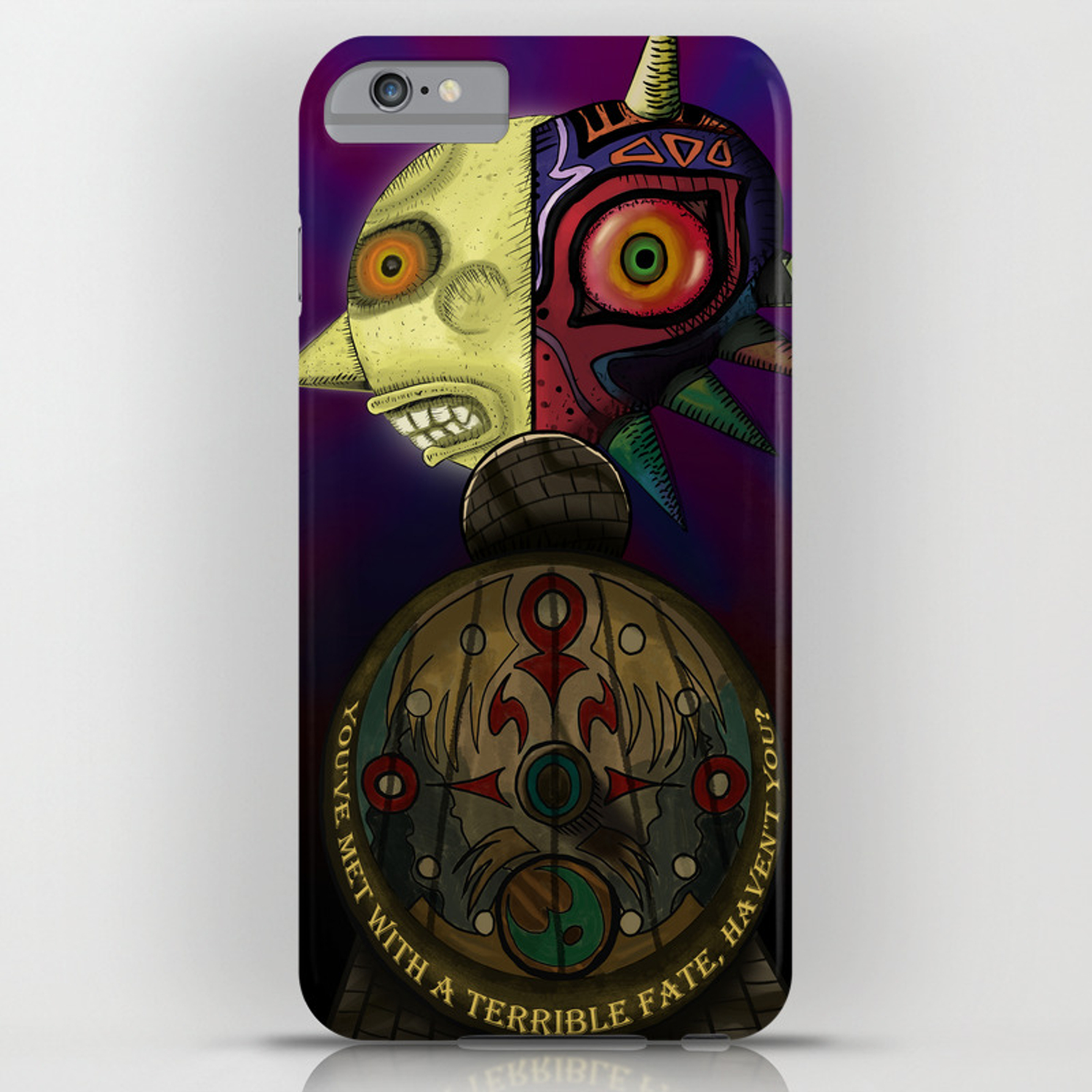 Terrible Fate iphone case