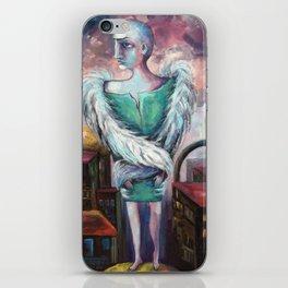 UNEMPLOYED ANGEL iPhone Skin