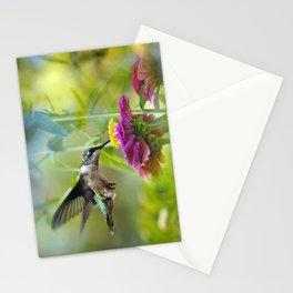 Sweet Hummingbird Stationery Cards