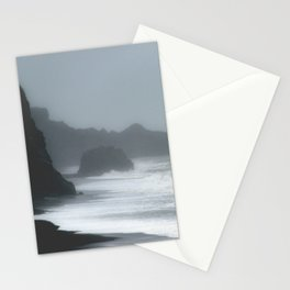 Pacific Northwest Beach Storm Stationery Cards