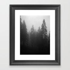 Fog Fog Fog Framed Art Print