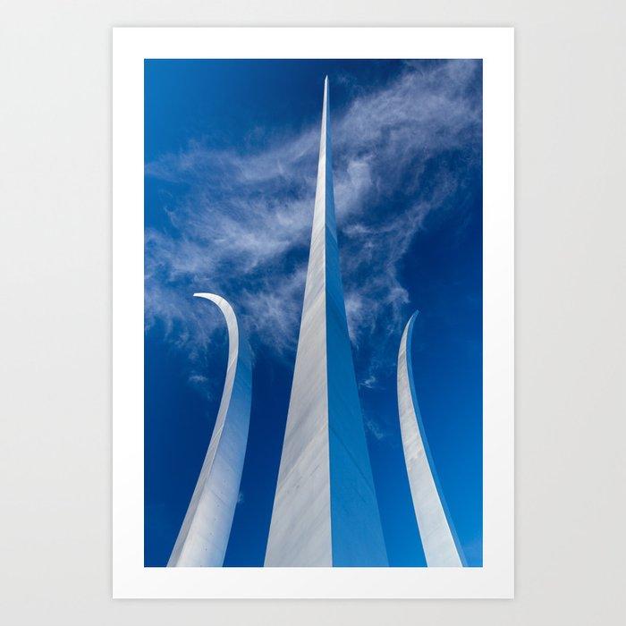 Steel Spires Toward Heaven Art Print