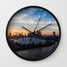 London O2 Wall Clock